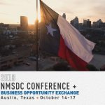 NMSDC Conference + Business Opportunity Exchange 2018 – October 14-17